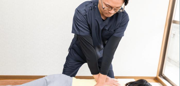 骨盤、背骨のゆがみを整える根本改善