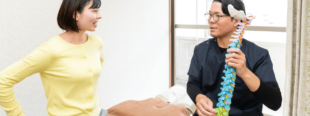 矯正はお客様一人ひとりにあったオーダーメイド施術を行います。